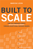 Built to SCALE by Marissa Levin, book cover